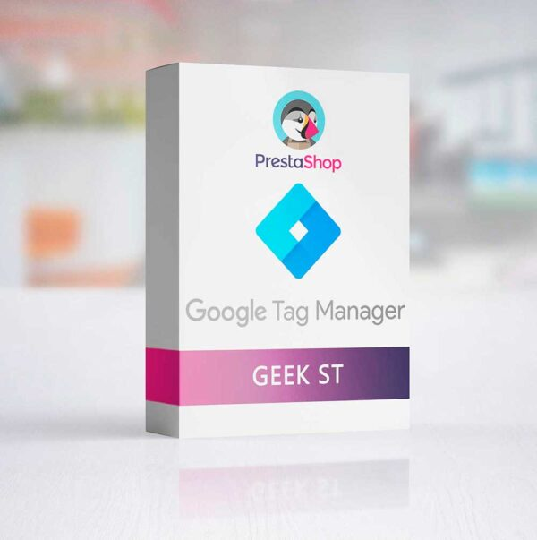 Prestashop Módulo Google Tag Manager